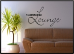 Wandtattoo Chillout Lounge. 	F�...